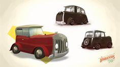 Coches Low Poly