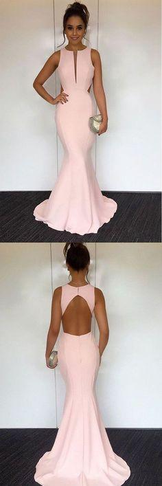 Prom Dresses Long, Mermaid Prom Dresses, #longpromdresses, Discount Prom Dresses, #2018promdresses, Pink Prom Dresses, Long Prom Dresses, Prom Dresses Mermaid, Long Prom Dresses 2018, Mermaid Prom Dresses 2018, Open Back Prom Dresses, 2018 Prom Dresses