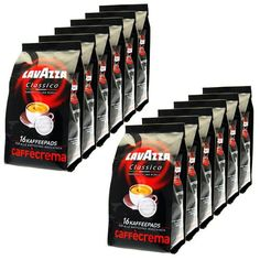 Lavazza Caff Crema Classico Pack of 12 12 x 16 Coffee pads >>> For more information, visit image link.