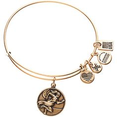 Team USA Alex and Ani Track and Field Expandable Bracelet - Gold - $32.00