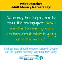 Literacy, Why It Matters Reading Books, Books To Read, Our Values, Help Me, Literacy, Give It To Me, Graphics, Sayings, Board