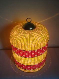 Lampe Cage originale Princesse