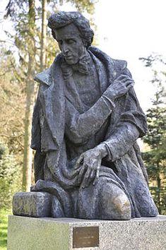 Frederic Chopin statue, Zelazowa Wola, Poland