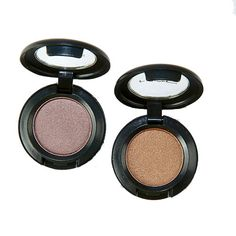 These Satin Taupe and Woodwinked eye shadows from M.A.C Cosmetics are glistening neutrals that add gentle smokiness—and are universally flattering! More going-out makeup every woman should know: http://www.womenshealthmag.com/beauty/going-out-makeup?cm_mmc=Pinterest-_-WomensHealth-_-Content-Beauty-_-BestGoingOutMakeup