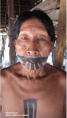 asurini - Google Search Beauty Around The World, Interesting Faces, South America, Brazil, Ethnic, Detective, Makeup, People, Masks