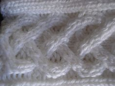 Crochet inspiration | Christmas Gift Multiple Cable Knit and crochet by earlybird1210