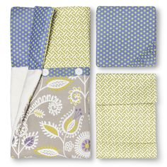 Cotton Tale Periwinkle 3pc Crib Bedding Set