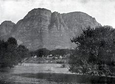 Table Mountain, National Archives, Us Images, Cape Town, Old Photos, South Africa, Mount Rushmore, Past, Old Things
