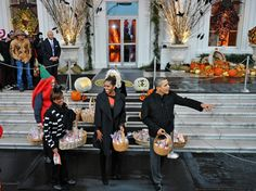 CHIC COASTAL LIVING: Halloween at the White House