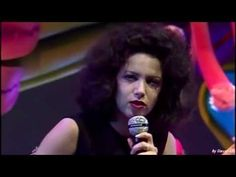 """▶ Antonella Ruggiero - Matia Bazar """"Ti Sento"""" - YouTube"""