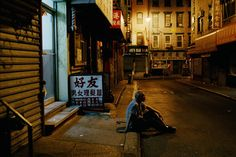 USA. New York City. 2002. Man in Chinatown by Steve McCurry