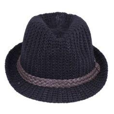 V-SOL Negro Unisex Hermoso Puede Plegable Caliente Lana Sueva Moda Del  Sombrero Caliente 50a0f42e61b