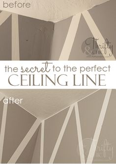 The Secret To The Perfect Ceiling Paint Line