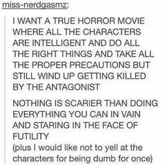 True horror movie