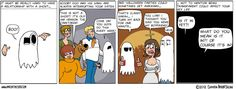 Dating a ghost