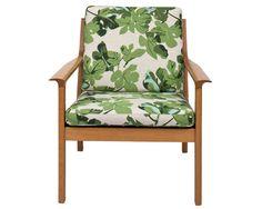Винтажное кресло в обивке от Peter Dunham, $1750, магазин 1stdibs