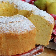 Angel cake al limone