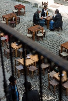 Grand Boulevard Cafe Off Istiklal by Olga Irez of Delicious Istanbul