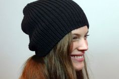 Erie Hat knitting pattern Measurements: One Size - 22 inches (56 cm) in diameter when stretched, 10.5 inches (27 cm) in height  Gauge: 20 stitches and 23 rows = 4 inches (10 cm) in 1 x 1 rib using 4mm (US 6) size needles or size needed to achieve gauge