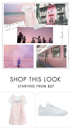 """""""Untitled #97"""" by brianna-miller-bts-army ❤ liked on Polyvore featuring adidas Originals"""