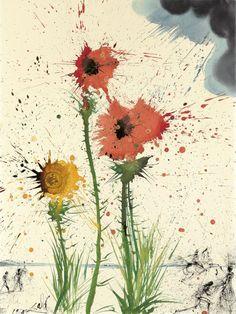 """nearlya: """"Salvador Dalí. Untitled """""""