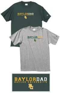Is Dad ready for #Baylor Football 2013? // T-shirt available at the Baylor Bookstore ($14.95) #SicEm