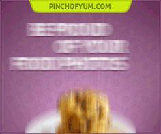 Pinch of Yum - Tasty Food Photography eBook's Shopping Cart Pineapple Whip, Fettucine Alfredo, Pumpkin Waffles, Pumpkin Tarts, Quinoa Soup, Vodka Lemonade, Cauliflower Pizza, Yummy Food, Tasty