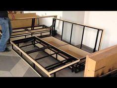 Welded Furniture, Bed Furniture, Sofa Cumbed Design, Sofa Come Bed, Sofa Bed, Sofa Makeover, Diy Furniture Videos, Metal Sofa, Bedroom Bed Design