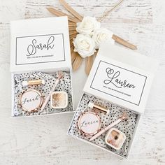 Ways To Ask Bridesmaids, Will You Be My Bridesmaid Gifts, Bridesmaid Thank You, Bridesmaid Gift Boxes, Bridesmaid Proposal Gifts, Gifts For Wedding Party, Wedding Ideas, Wedding Stuff, Maid Of Honour Gifts