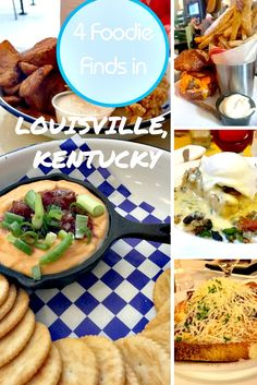 From dozens of wonderful restaurants in the running, here are four foodie finds in Louisville, Kentucky that we recommend trying out. Kentucky Food, Louisville Kentucky, Louisville Restaurants, Festivals, Drinking Around The World, Burger Bar, Best Places To Eat, World Recipes, Food Presentation