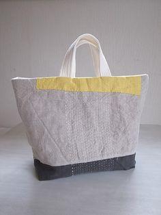 Beautiful linen bag