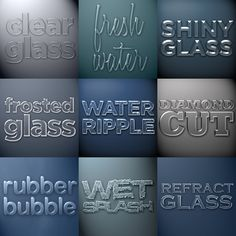 29 Awesome water photoshop pattern images