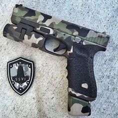Glock 17 multicam