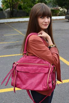 It was a pink kinda day... love this Urban Expressions bag!   www.houseofjeffers.com