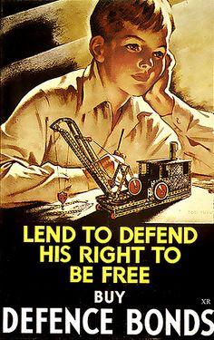 ... lend to defend! (UK) WW2
