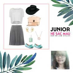 """Junior - Colorful Summer"" Contest Summer Mixstyle from Hang Nguyen Vascara's Shoe and Bag for women"