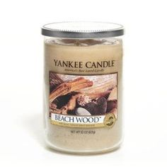 This Yankee Candle in Beachwood will transport you to the beach from your own living room! Seasoned by the elements. . . this modern blend of vetiver, salt air and driftwood creates an intriguing fragrance.