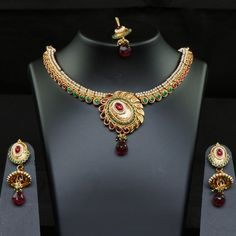 Exquisite Multicolored Necklace Collection