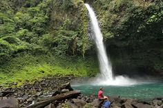 La Fortuna Waterfall in the Costa Rican Town of the Same Name
