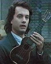 Tom Hanks in a scene from Joe Vs The Volcano - and probably the entire reason I wanted to learn to play the ukulele