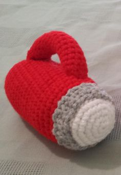 Flashlight Baby Rattle Crochet Pattern