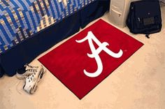 University of Alabama Crimson Tide Script A Starter Mat $25.00