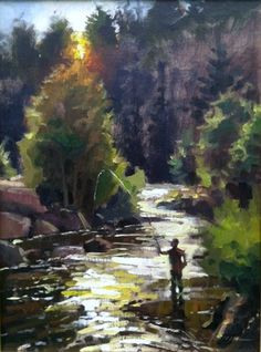 "Jason Sacran Fine Art : "" I was honored yesterday to be the 1st place winner in the quickdraw at the Plein Air Rockies in Estes Park, CO"" 