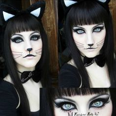 15 Totally Cool Halloween Makeup Ideas                              …
