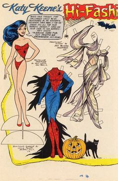 Bewitching Glamour * Spectacular Spider Web * Magnificent Mummy