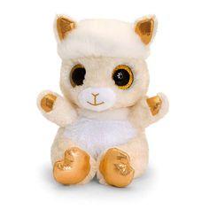 Keel Animotsu Gold Lama 15cm | calitron.ch Teddy Bear, Toys, Animals, Owl, Toy, Activity Toys, Animales, Animaux, Teddy Bears