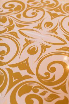gold wedding design @ivyrobinson @corbin