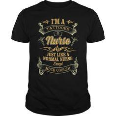Tattooed nurseThis shirt is perfect for all these tattooed nurses! Get it now! Wear it proud! ^__^nurse,tattoo,nursing