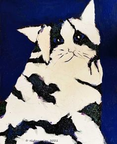 Art Journals, Blue Eyes, Moose Art, December, Photographs, Paintings, Abstract, Cats, Animals