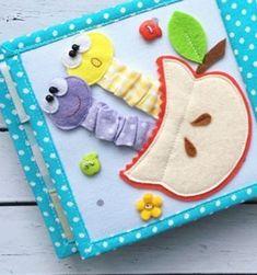 Diy Quiet Books, Baby Quiet Book, Felt Quiet Books, Quiet Book Templates, Quiet Book Patterns, Toddler Books, Toddler Gifts, Preschool Crafts, Crafts For Kids